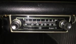 La radio tiene un toque setentero auténtico