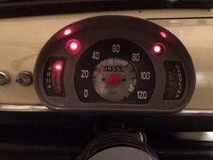 El piloto de aviso de calentón ya funciona