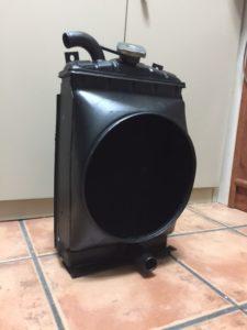 El radiador como nuevo